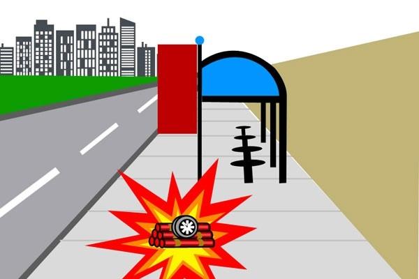 Ilustrasi bom - Antara