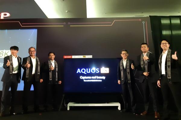 Televisi Sharp Aquos 8K - Bisnis/Annisa S Rini