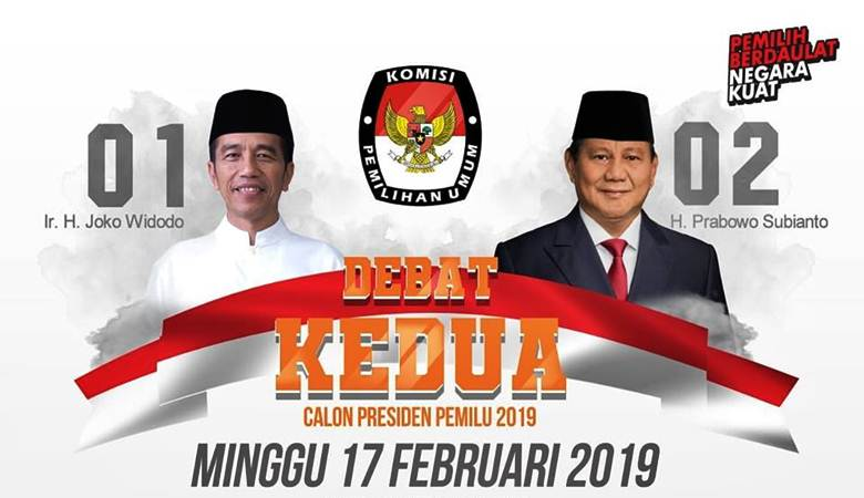 Ilustrasi sosialisasi Debat Kedua Calon Presiden Pemilu 2019 yang digelar di Hotel Sultan Jakarta, Minggu (17/2/2019) dengan tema: Energi dan Pangan, Sumber Daya Alam dan Lingkungan Hidup, serta Infrastruktur. - Istimewa