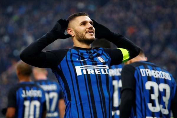 Striker Inter Milan Mauro Icardi - Reuters/Alessandro Garofalo