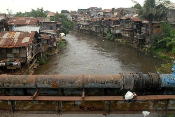 Pemukiman kumuh - Bisnis/Nurul Hidayat