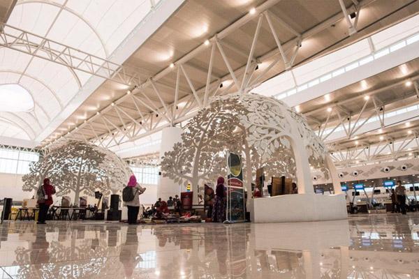 Ruang tunggu penumpang di Bandara Kertajati, Majalengka, Jawa Barat. - Antara