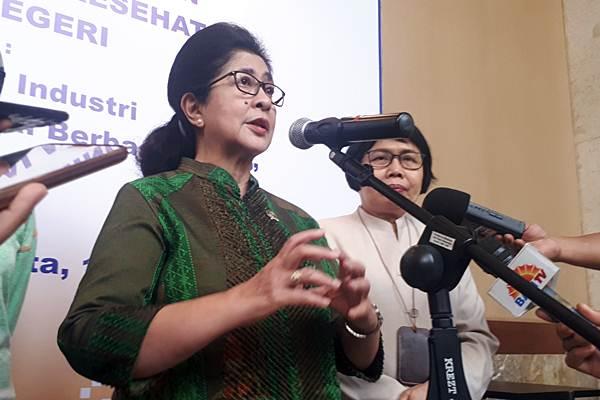 Menteri Kesehatan Nila Moeloek . - JIBI/Annisa Sulistyo Rini