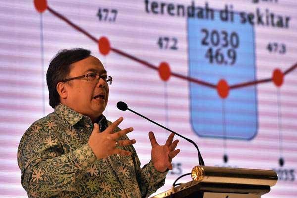 Menteri PPN/Kepala Bappenas Bambang Brodjonegoro./ANTARA FOTO - R. Rekotomo