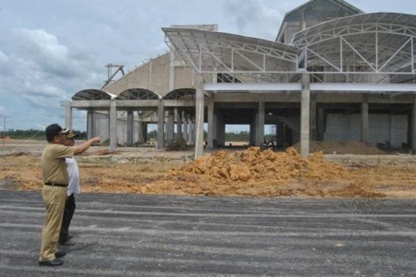 Ilustrasi - Pembangunan Bandara Singkawang, Kalbar. - Bisnis/Antara