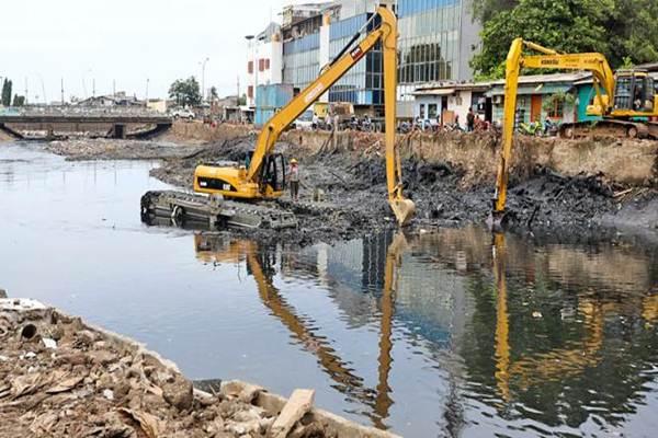 Normalisasi sungai untuk menghindari Jakarta dari banjir. - Pemprovdki