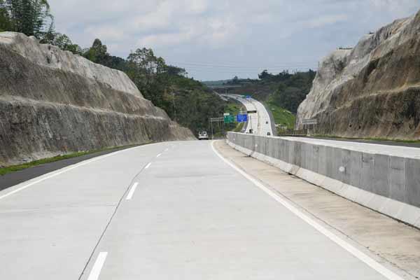 Ilustrasi / Jalan Tol Solo//Semarang Trans/Jawa
