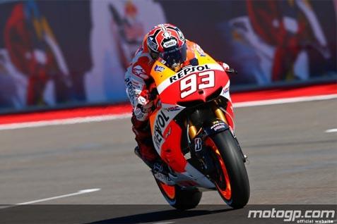 Pebalap Moto GP Marc Marquez - Ilustrasi