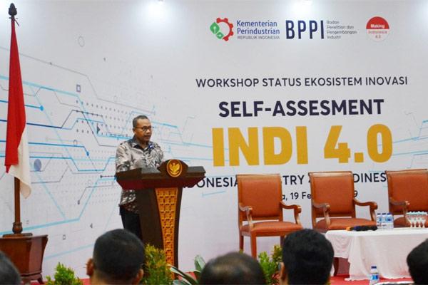 INDI 4.0 akan diluncurkan di acara Indonesia Industrial Summit 2019 pada 4-6 April 2019. - KEMENPERIN