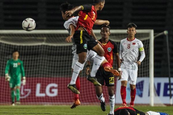 Vietnam menundukkan Timor Leste 4 - 0 di Piala AFF U-22 2019. - AseanFootball.org