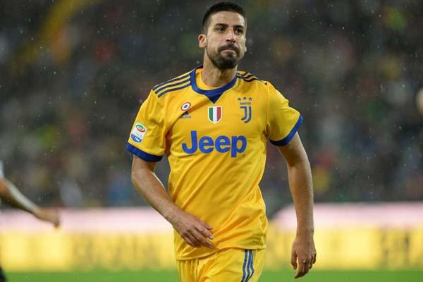 Pemain Juventus Sami Khedira - Reuters/Massimo Pinca