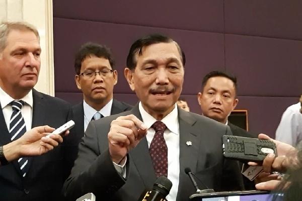 Menteri Koordinator Bidang Kemaritiman Indonesia Luhut Binsar Panjaitan - Bisnis/Aziz R