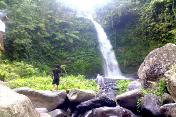 Air terjun Segenter. - Blogspot