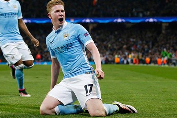 Gelandang Manchester City Kevin de Bruyne - Reuters/Andrew Yates