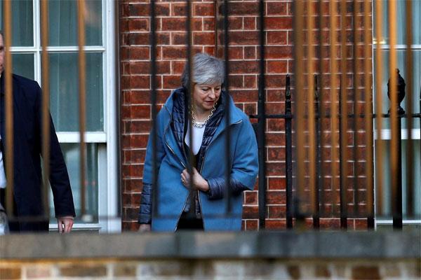 Perdana Menteri Inggris Theresa May. - REUTERS