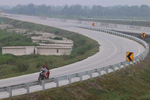 Jalur Tol Medan/Binjai (ant)