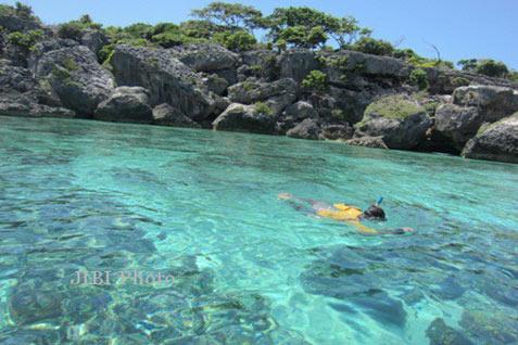 Wisata laut Selayar.
