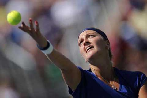 Petenis Republik Cheska Petra Kvitova - Reuters
