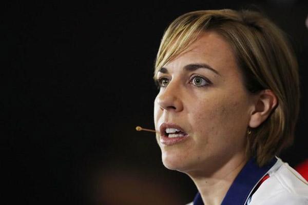 Wakil Kepala tim F1 Williams Claire Williams - Reuters/Matthew Childs