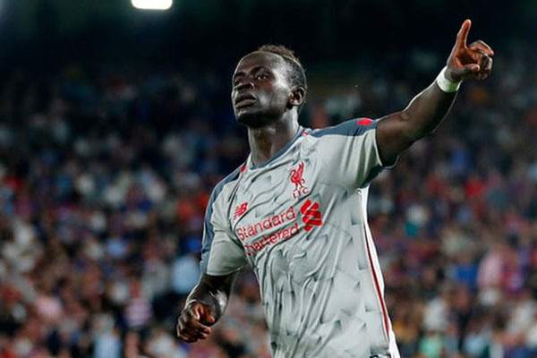 Penyerang Liverpool Sadio Mane - Reuters/Eddie Keogh