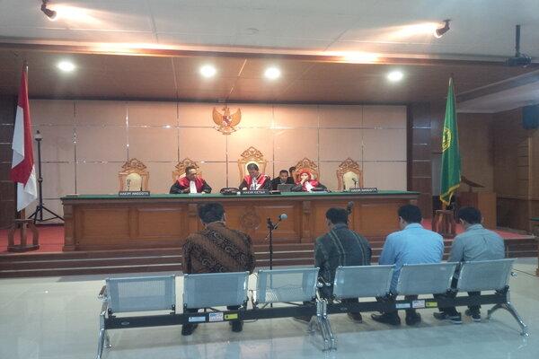 Sidang suap Meikarta di Pengadilan Negeri Bandung, Kota Bandung, Kamis (21/2 - 2019).
