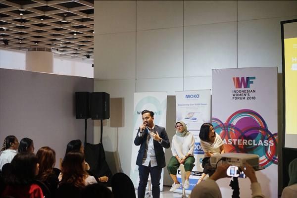 Moka, startup penyedia layanan kasir digital mendukung para perempuan wirausaha kreatif melalui acara Indonesias Women Forum 2018 - Istimewa