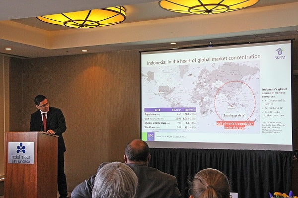 KJRI) di San Francisco dengan Indonesia Investment Promotion Center (IIPC) New York menyelenggarakan Indonesia-San Francisco Business Forum 2019 - Dok. KJRI San Fransisco
