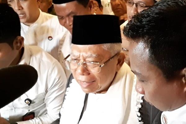 Ma'ruf Amin - Bisnis/Aziz R