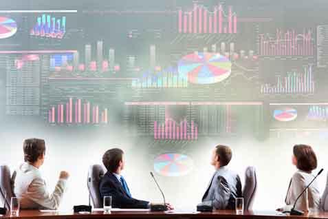 PUPR sedang menyusun sistem informasi kontsruksi terpadu Mahadata. Diharapkan big data ini membuat iklim industri jasa konstruksi di Indonesia menjadi lebih kompetitif. - Ilustrasi