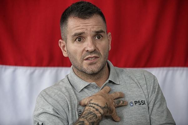 Pelatih Timnas Indonesia Simon McMenemy - PSSI