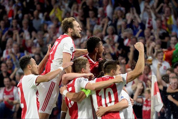 Ajax Amsterdam - Reuters/Toussaint Kluiters