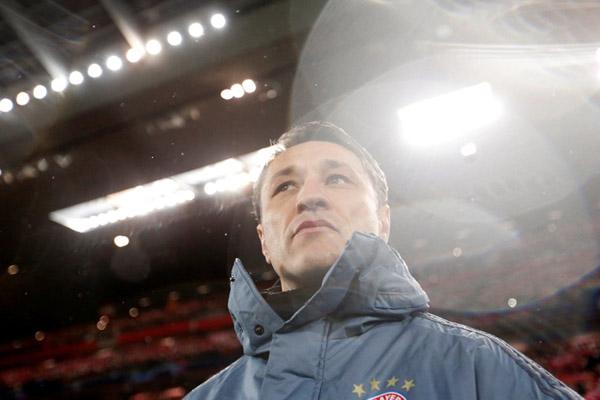 Pelatih Bayern Munchen Niko Kovac - Reuters/Carl Recine
