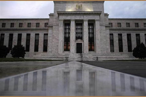 Gedung The Fed - Reuters