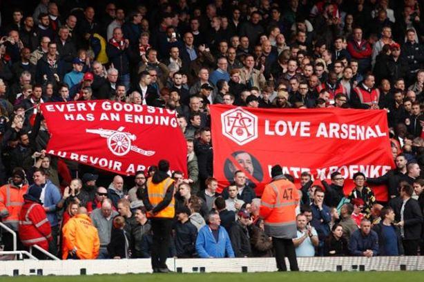 Pendukung Arsenal - www.telegraph.co.uk