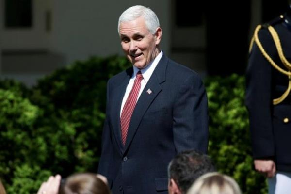 Wakil Presiden AS Mike Pence - Reuters