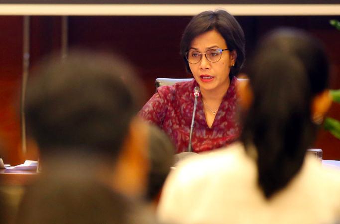 Menteri Keuangan Sri Mulyani Indrawati . - Bisnis/Abdullah Azzam