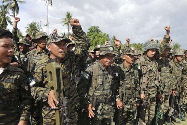 Kelompok militan Abu Sayyaf - Reuters