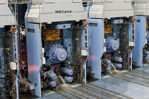 PT Krakatau Steel (PTKS) telah mengontrak SMS Group untuk memasok turnkey hot strip mill. - SMS GROUP