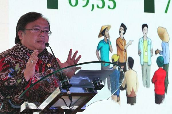 Menteri PPN/Kepala Bappenas Bambang P.S Brojonegoro - JIBI/Dedi Gunawan