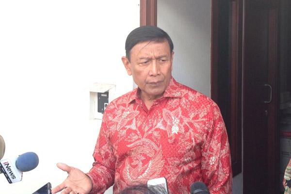 Menteri Koordinator Bidang Politik, Hukum, dan Keamanan Wiranto . - Bisnis/Muhammad Ridwan