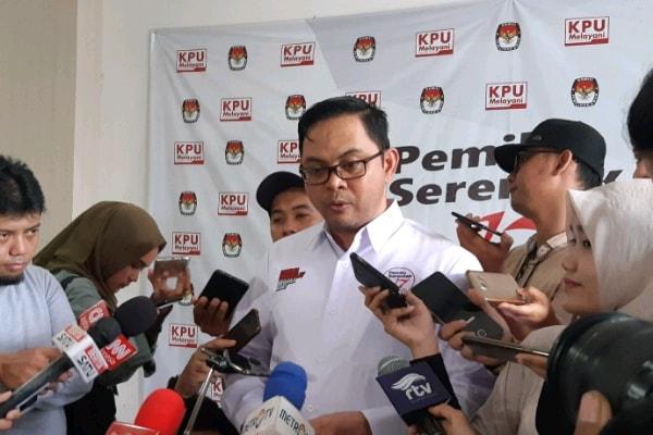 Komisioner KPU Viryan Aziz: WNA Tak Punya Hak Pilih - Bisnis Indonesia/Iim Fathimah Timorria