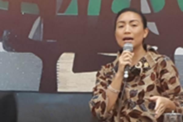Anggota Komisi VIII DPR RI Fraksi Gerindra Rahayu Saraswati Djojohadikusumo saat diskusi dalam forum legislasi bertema Progres RUU Penghapusan Kekerasan Seksual (PKS). - Bisnis/John Andhi Oktaveri