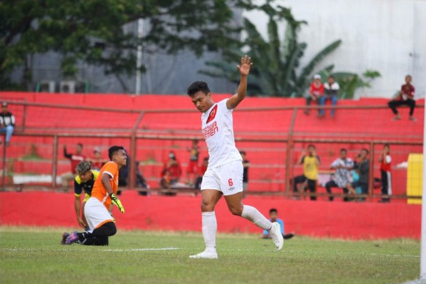Penyerang PSM Makassar Ferdinand Sinaga - PSMMakassar.co.id