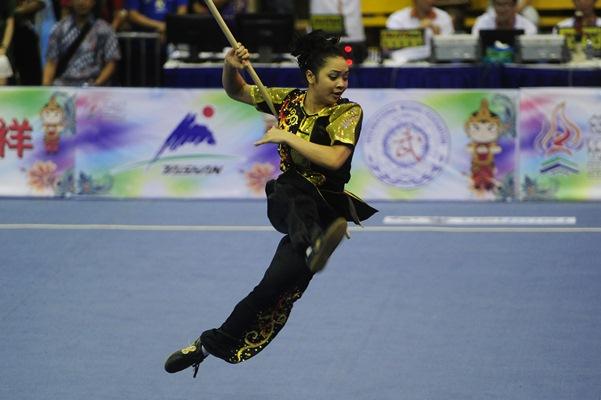Pewushu putri Indonesia Juwita Niza Wasni - Antara