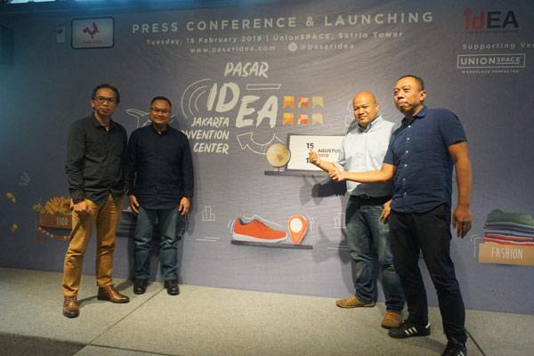 Pasar idEA 2019 hadir sebagai pameran e-commerce dengan fokus utama memperkuat hubungan untuk membangun kepercayaan bagi pelaku industri dengan para pelanggan. - IDEA