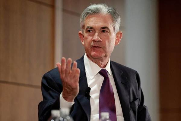 Gubernur The Fed Jerome Powell - Bloomberg