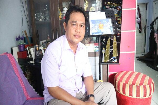 Ketua Karang Taruna Kalsel Irwansyah.