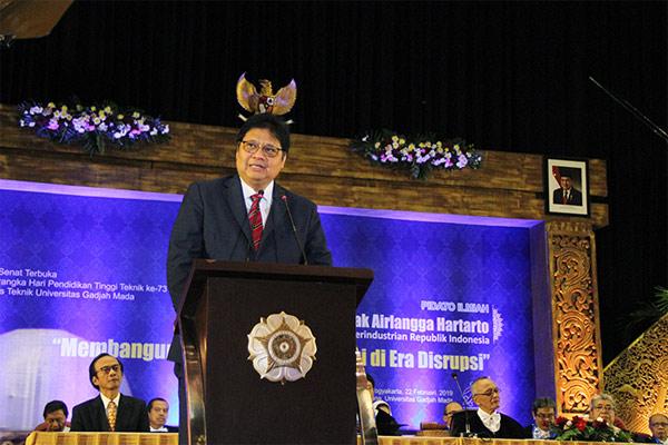 Menteri Perindustrian Airlangga Hartarto - KEMENPERIN