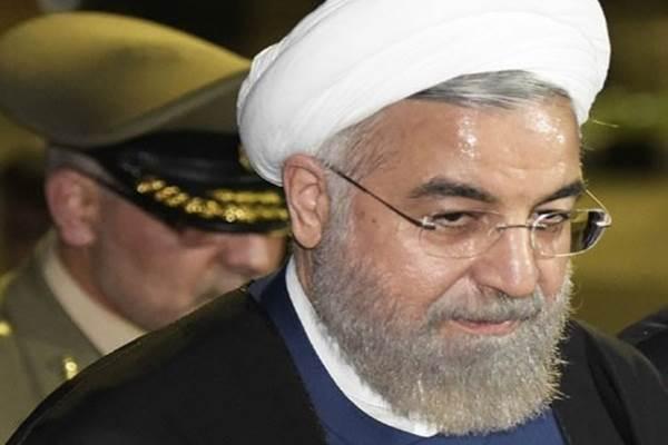 Presiden Iran Hassan Rouhani menolak pengunduran diri Menlu Mohammad Javad Zarif - Antara