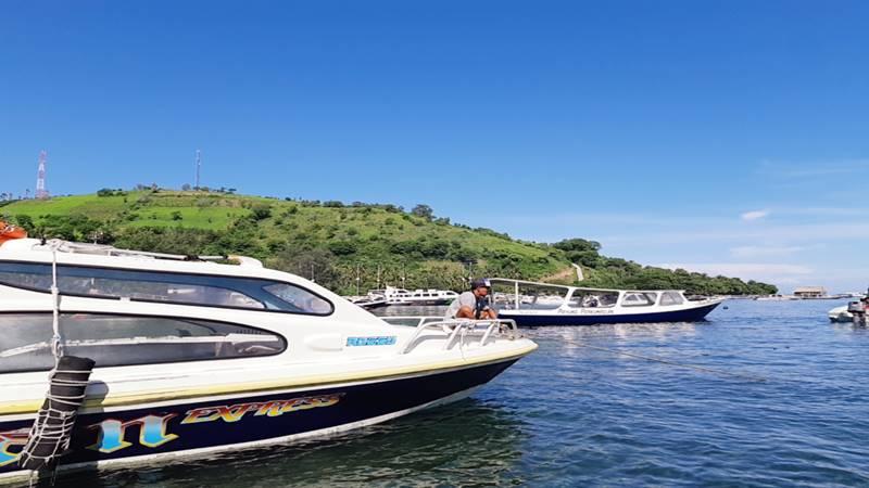Ilustrasi: Pelabuhan Teluk Nare, Lombok, Nusa Tenggara Barat, masih sepi permintaan penyeberangan menuju gili (pulau-pulau kecil) di sekitar Lombok, Kamis (21/2/2019). JIBI/Bisnis - Tika Anggreni